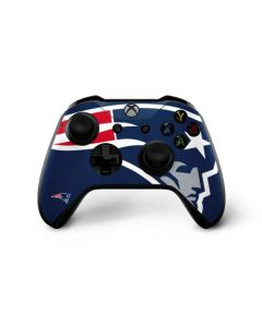 New England Patriots Large Logo Xbox One X Controller Skin