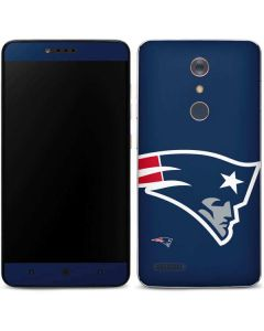 New England Patriots Large Logo ZTE ZMAX Pro Skin