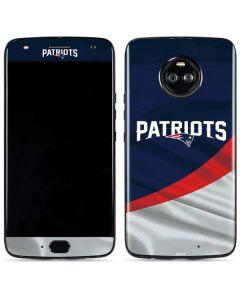 New England Patriots Moto X4 Skin