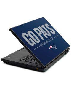 New England Patriots Team Motto Lenovo T420 Skin