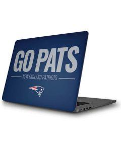 New England Patriots Team Motto Apple MacBook Pro Skin