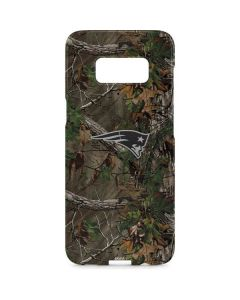 New England Patriots Realtree Xtra Green Camo Galaxy S8 Plus Lite Case