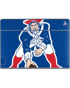 New England Patriots Retro Logo Galaxy Book Keyboard Folio 12in Skin