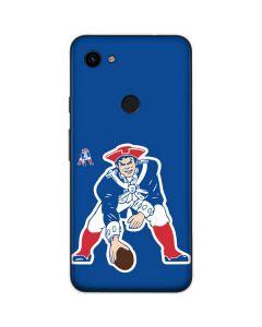New England Patriots Retro Logo Google Pixel 3a Skin