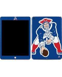 New England Patriots Retro Logo Apple iPad Skin