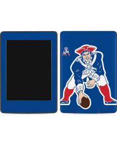 New England Patriots Retro Logo Amazon Kindle Skin