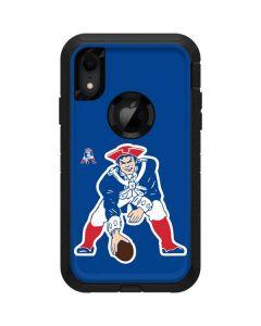 New England Patriots Retro Logo Otterbox Defender iPhone Skin