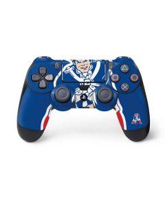 New England Patriots Retro Logo PS4 Controller Skin