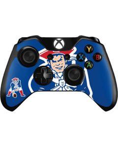 New England Patriots Retro Logo Xbox One Controller Skin