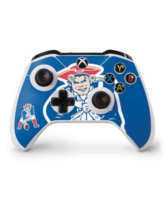 New England Patriots Retro Logo Xbox One S Controller Skin