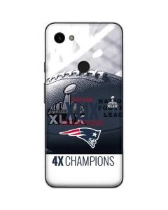 New England Patriots Super Bowl Champs Google Pixel 3a Skin