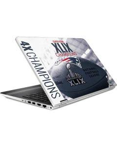 New England Patriots Super Bowl Champs HP Pavilion Skin