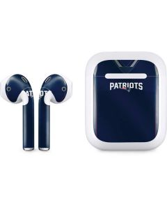 New England Patriots Team Jersey Apple AirPods Skin