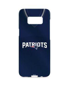 New England Patriots Team Jersey Galaxy S8 Plus Lite Case