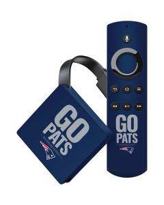 New England Patriots Team Motto Amazon Fire TV Skin