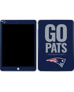 New England Patriots Team Motto Apple iPad Skin
