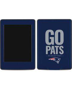 New England Patriots Team Motto Amazon Kindle Skin