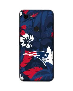 New England Patriots Tropical Print Google Pixel 3a Skin