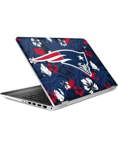 New England Patriots Tropical Print HP Pavilion Skin