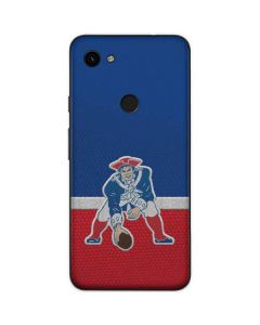 New England Patriots Vintage Google Pixel 3a Skin