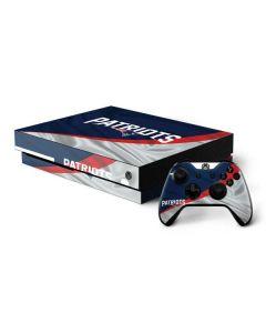 New England Patriots Xbox One X Bundle Skin