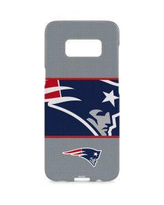 New England Patriots Zone Block Galaxy S8 Plus Lite Case