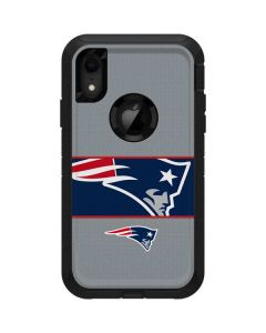 New England Patriots Zone Block Otterbox Defender iPhone Skin