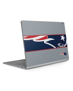 New England Patriots Zone Block Surface Book 2 13.5in Skin