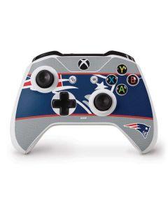 New England Patriots Zone Block Xbox One S Controller Skin
