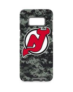 New Jersey Devils Camo Galaxy S8 Pro Case