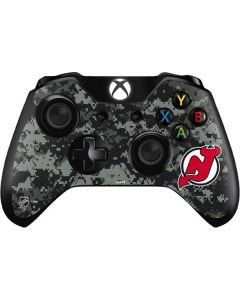 New Jersey Devils Camo Xbox One Controller Skin