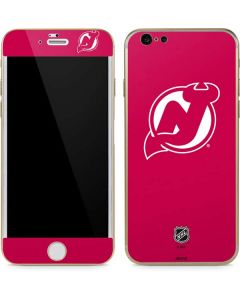 New Jersey Devils Color Pop iPhone 6/6s Skin