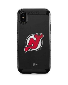 New Jersey Devils Distressed iPhone X Cargo Case