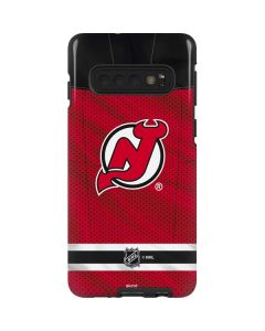 New Jersey Devils Home Jersey Galaxy S10 Pro Case