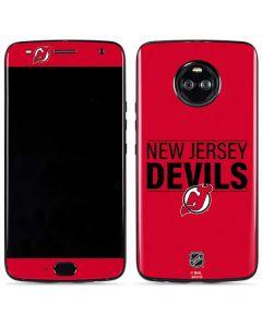 New Jersey Devils Lineup Moto X4 Skin