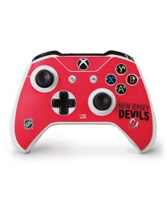 New Jersey Devils Lineup Xbox One S Controller Skin