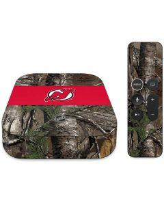 New Jersey Devils Realtree Xtra Camo Apple TV Skin