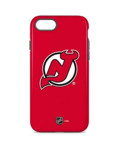 New Jersey Devils Solid Background iPhone 8 Pro Case