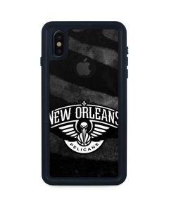 New Orleans Pelicans Black Animal Print iPhone XS Waterproof Case