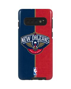 New Orleans Pelicans Canvas Galaxy S10 Pro Case