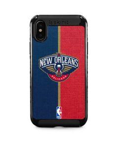New Orleans Pelicans Canvas iPhone XS Cargo Case