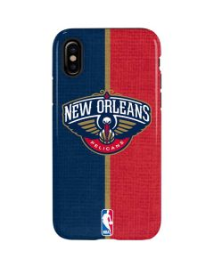 New Orleans Pelicans Canvas iPhone XS Max Pro Case