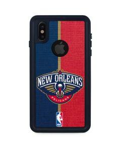 New Orleans Pelicans Canvas iPhone XS Waterproof Case