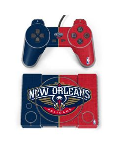 New Orleans Pelicans Canvas PlayStation Classic Bundle Skin