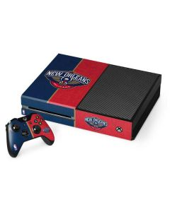 New Orleans Pelicans Canvas Xbox One Console and Controller Bundle Skin