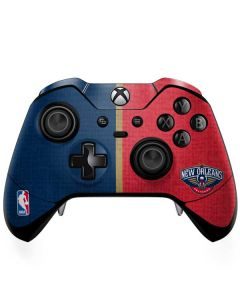 New Orleans Pelicans Canvas Xbox One Elite Controller Skin