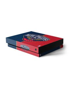 New Orleans Pelicans Canvas Xbox One X Console Skin