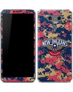 New Orleans Pelicans Digi Camo LG G6 Skin