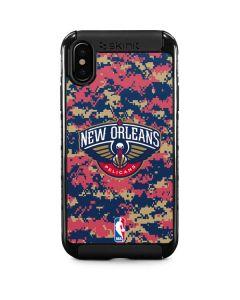 New Orleans Pelicans Digi Camo iPhone XS Cargo Case