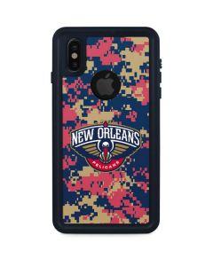 New Orleans Pelicans Digi Camo iPhone XS Waterproof Case